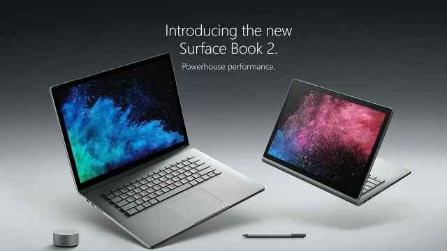 最强微软笔电Surface Book 2发布