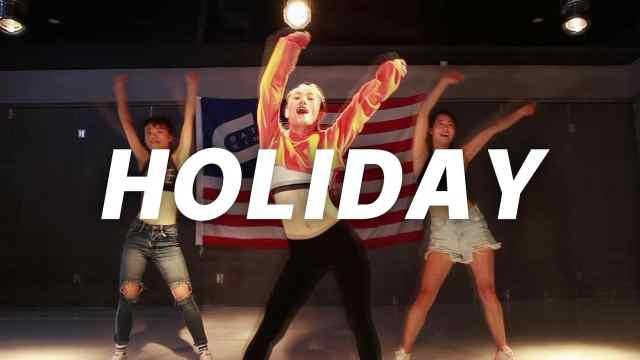 翻跳少女时代《holiday》堪比原版