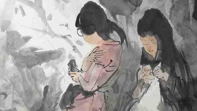 何金时:他走向中国画,且幅幅绝美