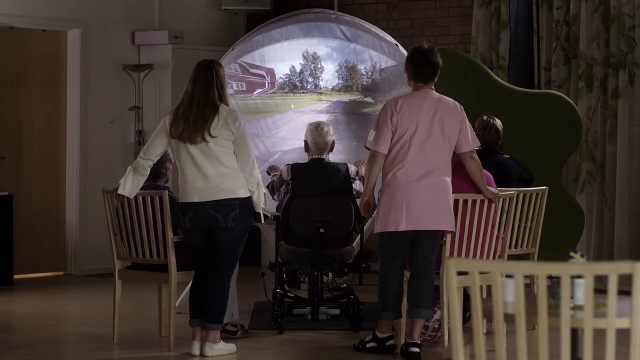 科技帮助老人重拾过去记忆返老还童
