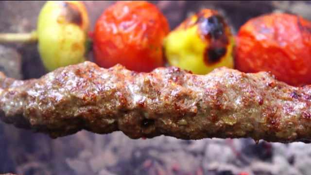 丛林烤个串,如此简单粗暴的烤肉!