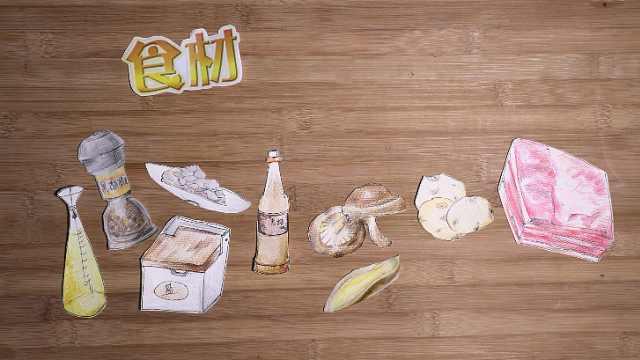 熊猫动画菜谱——土豆红烧肉