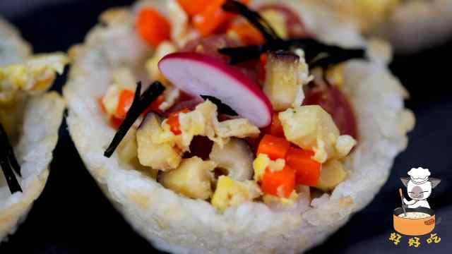 你还在吃白米饭?我的米饭出国了!