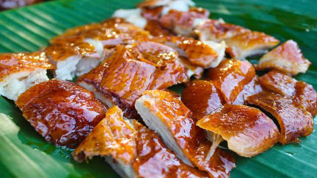 深井烤鸭,味道堪比北京烤鸭