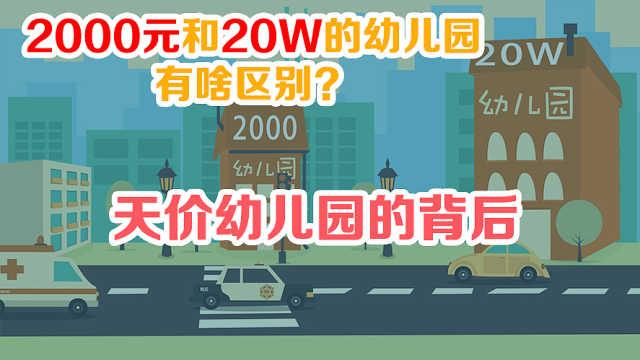 2000元的幼儿园和20万的有啥区别?