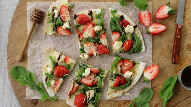 草莓披萨,每口都是我爱草莓的证明