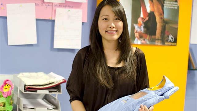 女大学生发明的袋子,拯救无数生命