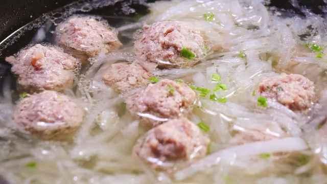 萝卜加羊肉丸,寒冬暖身大绝招!