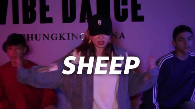 张艺兴《SHEEP》编舞,酷到飞起!