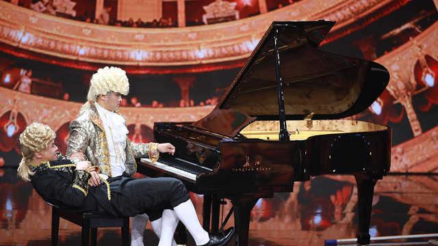 潘长江女婿原来是钢琴大牛!