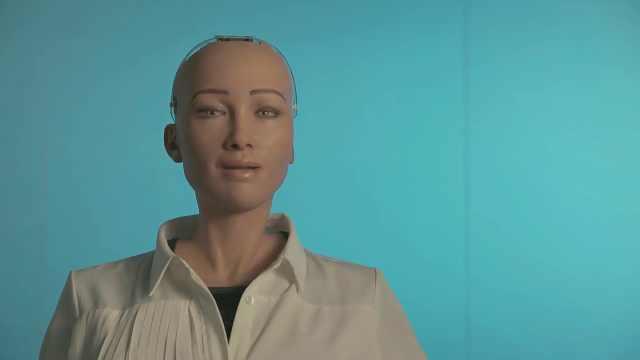 """机器人""""索菲亚"""":感谢导热膏"""