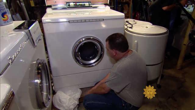 洗衣机俱乐部,静静欣赏洗衣过程…