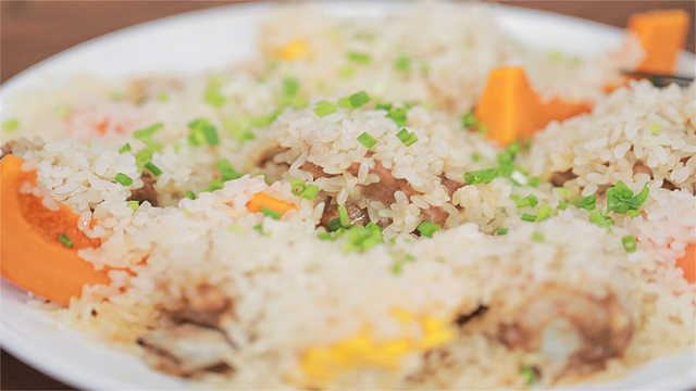 冲破你味觉的五彩时蔬糯米蒸排骨