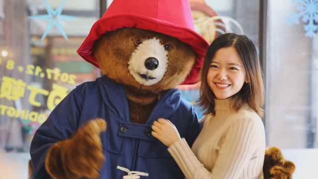 这只和王妃跳舞的熊,在上海出没啦