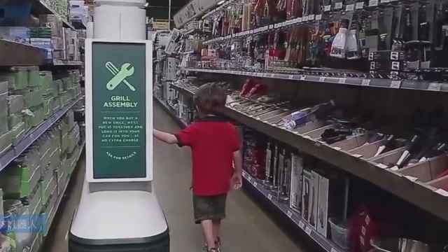 国外超市导购已被机器人替代!