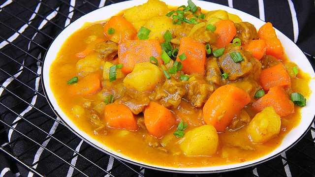 咖喱牛肉土豆怎么做好吃