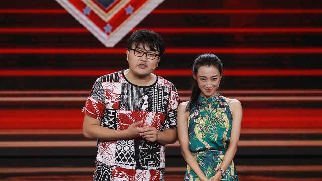 评委观众起哄小潘长江小蔡明在一起