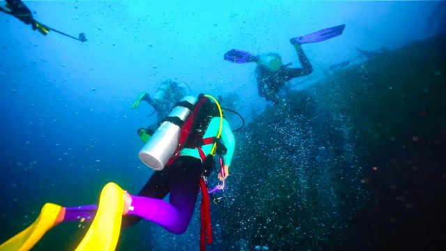 探奇马尔代夫海下沉船的秘密