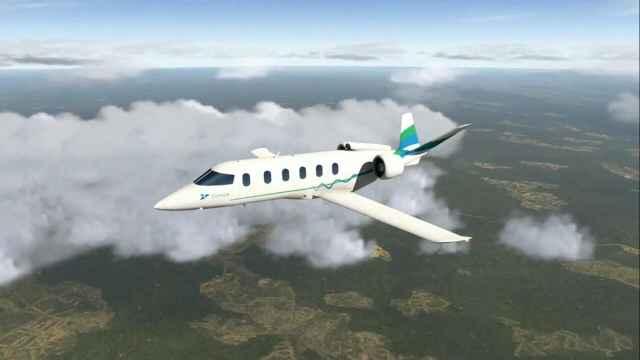 新型波音飞机,不用燃油改用电