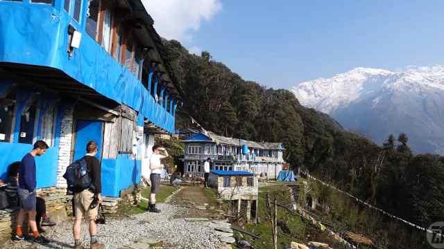 徒步尼泊尔ABC峡谷大冒险!