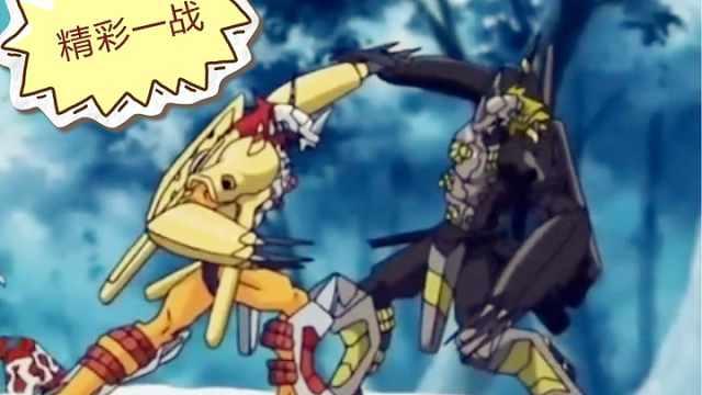 究极体战斗暴龙兽是最强数码宝贝?