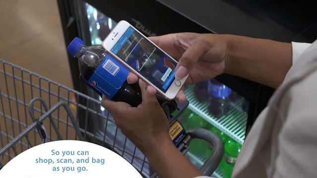 沃尔玛推出智慧新零售购物体验