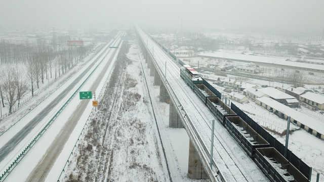 哈牡高铁 八纵八横最北一横贯通