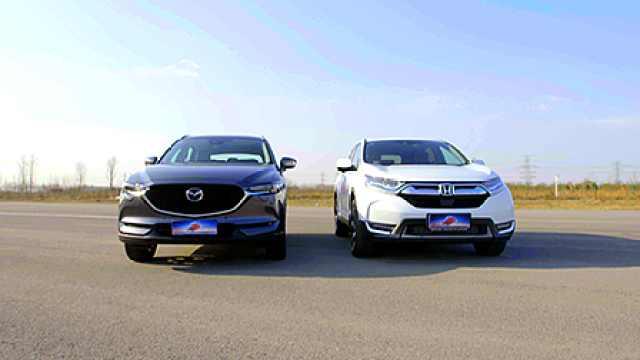 专家对比本田CR-V、马自达CX-5底盘