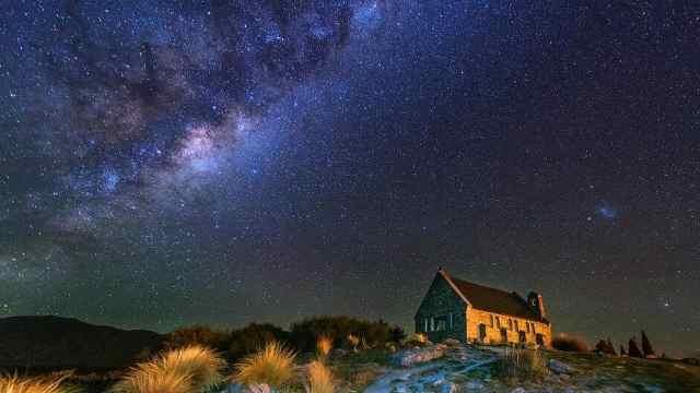 全球唯一的星空保护区波卡小镇