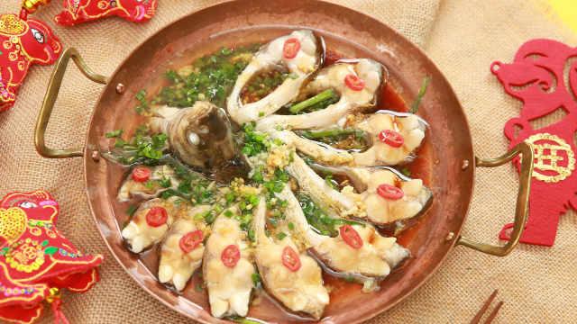 春节硬菜武昌鱼,一上桌就被抢空!
