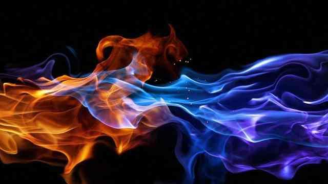 你注意过火焰的颜色吗?