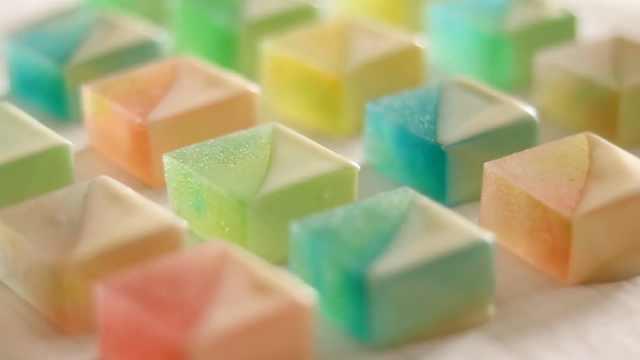 盛世美颜的酸甜琥珀糖