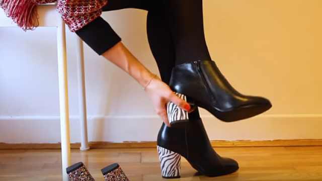 只需花一双鞋价钱,每月换鞋不重样