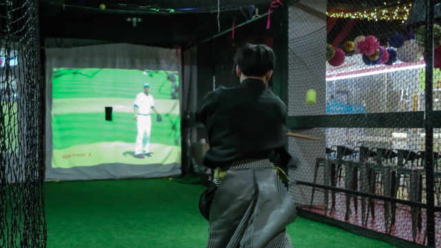 剑士拔刀快斩高速棒球,百发百中!
