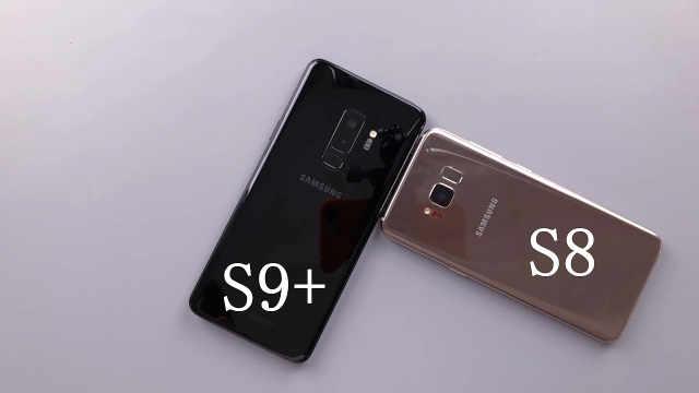 三星S9+对比三星S8