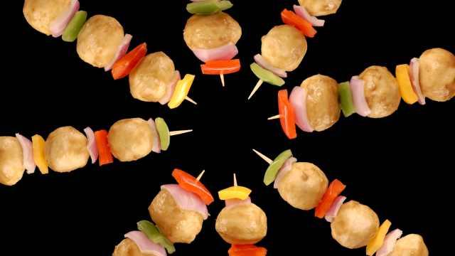 咖喱鱼蛋串串,好吃得停不下来