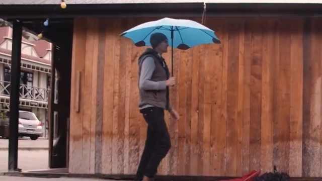 有了这把伞,风雨中让你不再凌乱