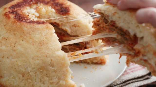 美味的香烤鸡肉黄油烩饭