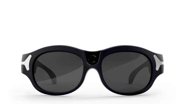 这幅眼镜能够帮助视障者无障碍生活