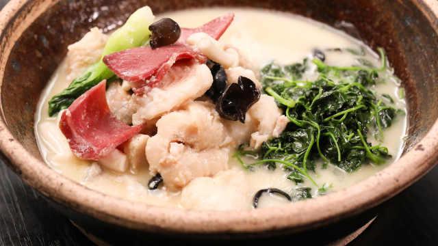 用豆浆来烧鱼汤,味道一级棒!