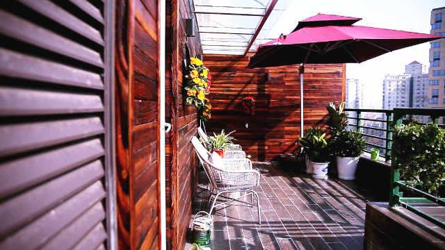 都市里的高层复式花园,最喜欢露台