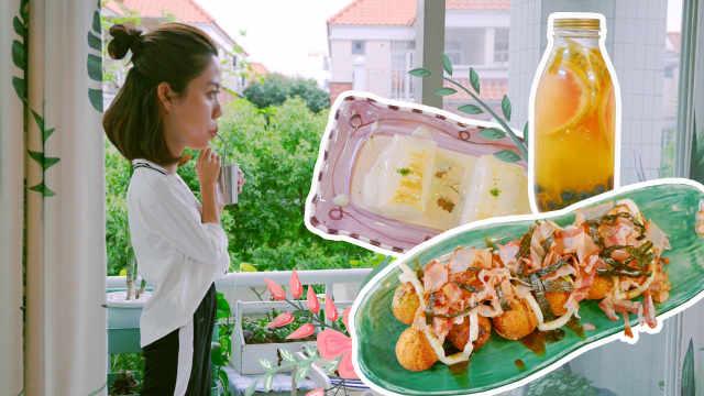 日式章鱼烧和烤年糕,你会点哪个