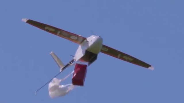 它在非洲救人无数,飞行过程全自动