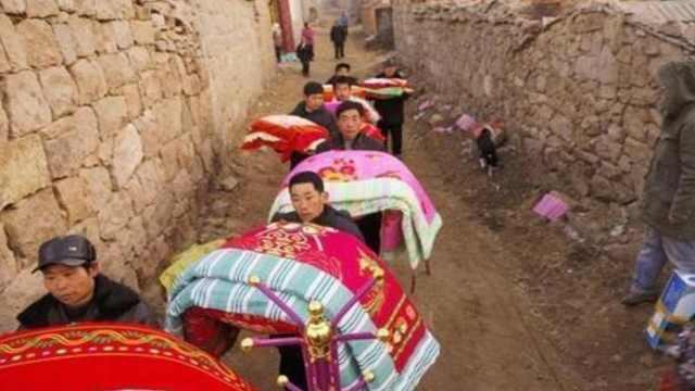 为什么农村嫁女儿自家人准备被子?