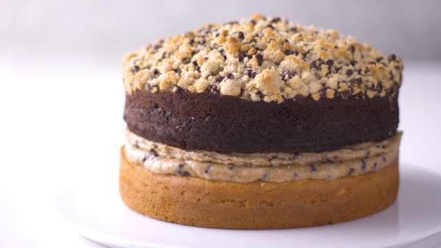 好吃的巧克力芝士蛋糕,甜品食谱