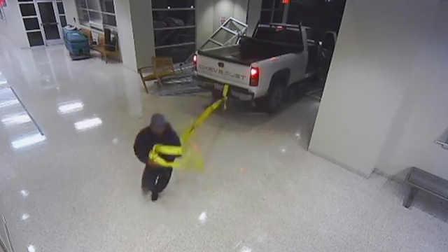 笨贼手把手教你如何失败偷走ATM机