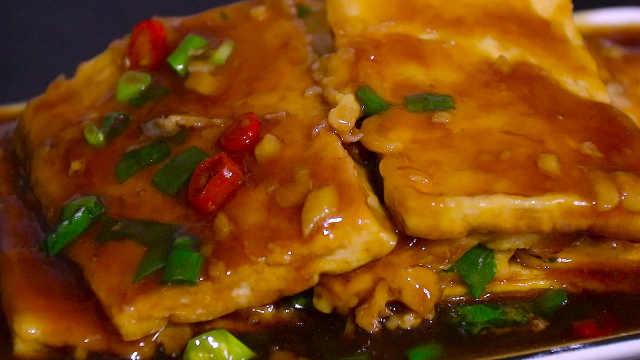 零基础学会做美味下饭的锅塌豆腐