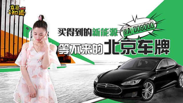 买得到的新能源 等不来的北京车牌