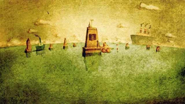 3分钟看动画短片《回忆积木小屋》