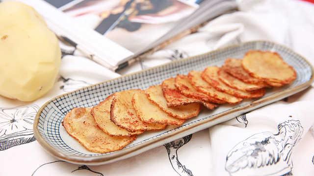 自己动手,简单好做自制薯片学起来